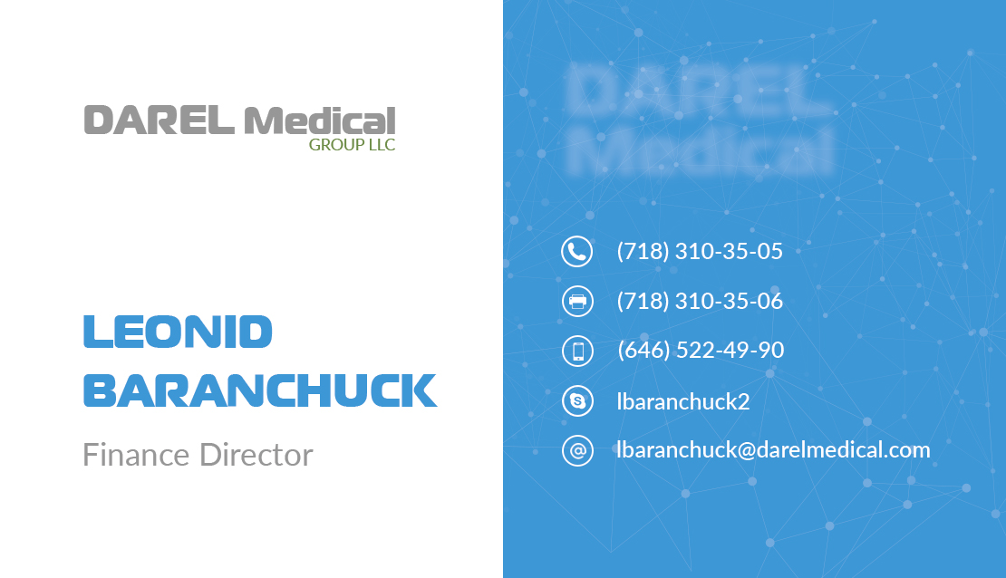 Darel_Medical_card